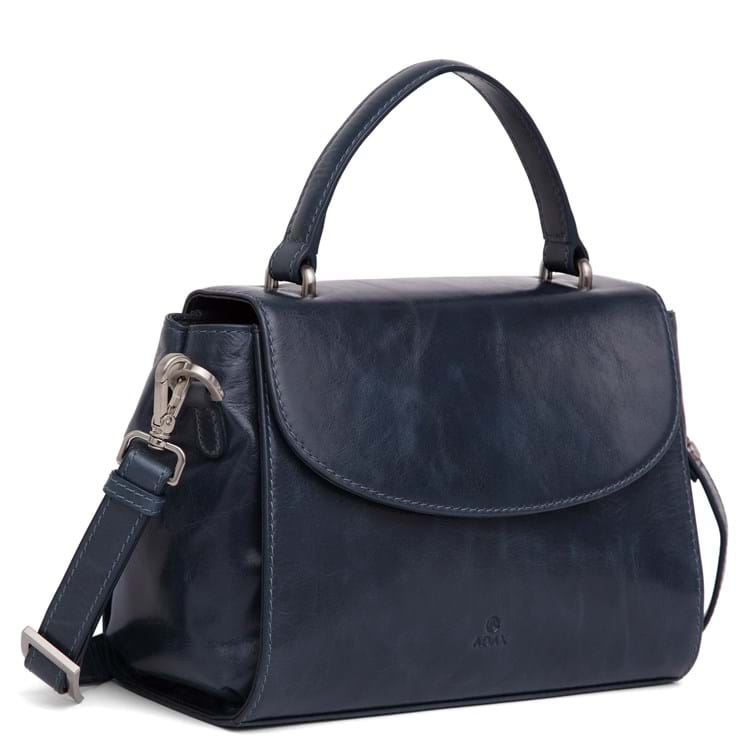 Adax Håndtaske Nora Salerno M. blå 4