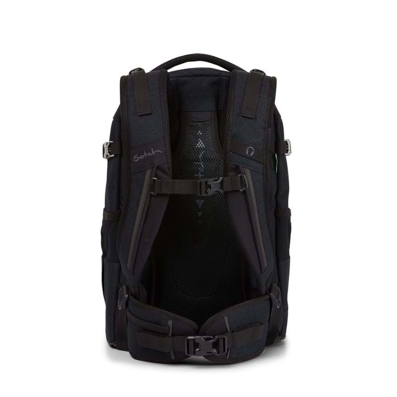 Satch Skoletaske Pack Limited Ed Sort/Sort 5