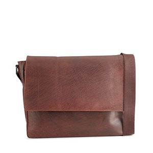 Tyler & Co Messenger Methey Brun