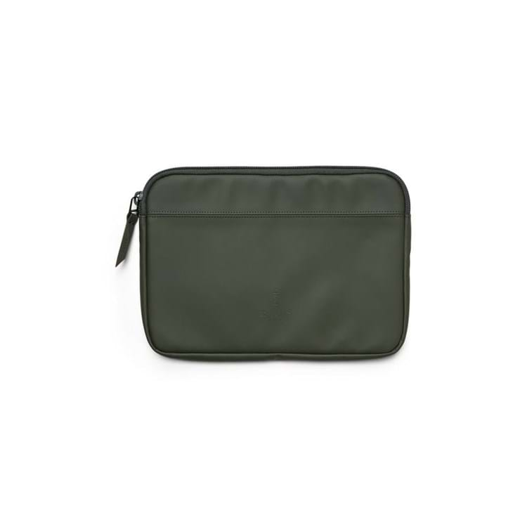Rains Sleeve Laptop Case Grøn 1