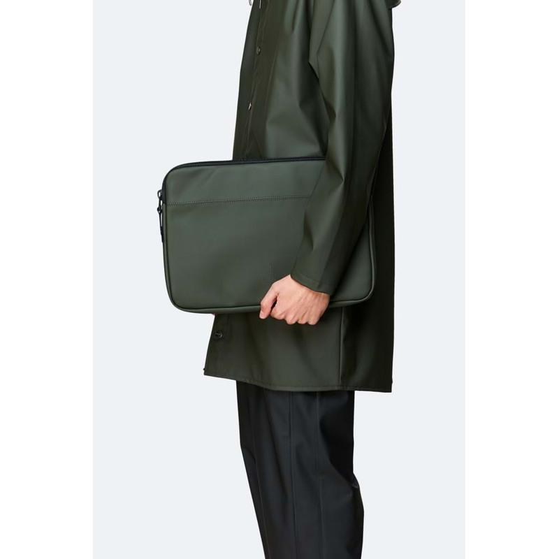 Rains Computer Sleeve Laptop Case Grøn 4