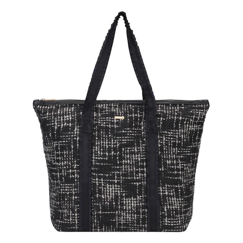 Day et Shopper Day G Tweed Sort/hvid mønster 1