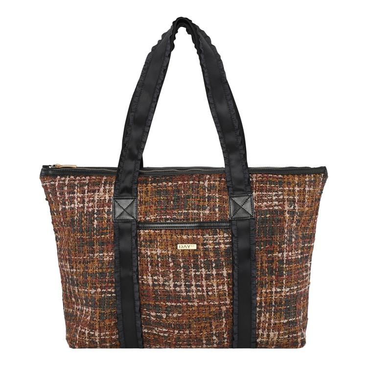 Day et Shopper Day G Tweed Work Brunt mønster 1