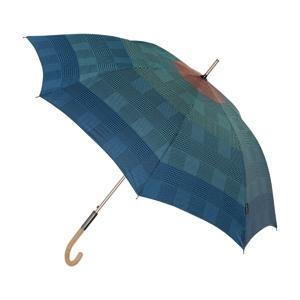 M&P Paraply lang automatisk Grøn mønster