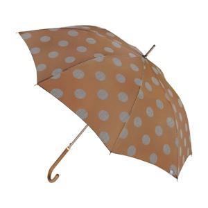 M&P Paraply lang automatisk Gul med prikker