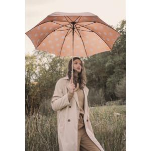 M&P Paraply lang automatisk Gul med prikker alt image
