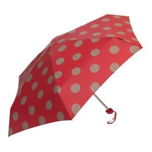 M&P Paraply mini Rød/m prikker