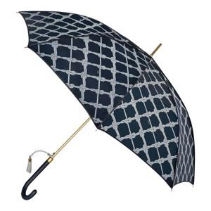 M&P Paraply lang automatisk Blå/mønster