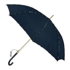 M&P Paraply lang automatisk Blå/blå