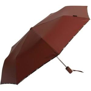 M&P Paraply kort dobbelt automatis Brun