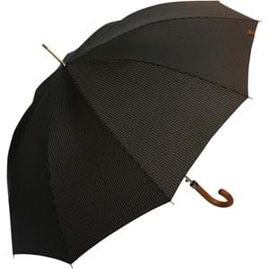 M&P Paraply lang automatisk Brunt mønster