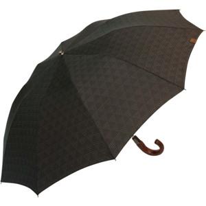 M&P Paraply kort automatisk Mørk Antracitgrå
