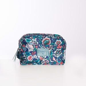 Lilió Toilettaske Cosmetic Bag Blå/mønster