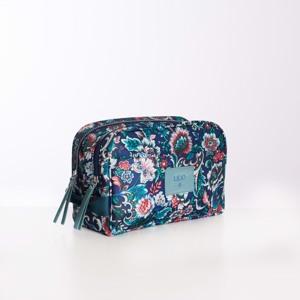 Lilió Toilettaske Cosmetic Bag Blå/mønster alt image