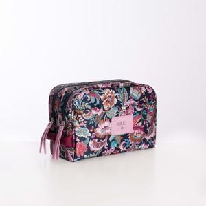 Lilió Toilettaske Cosmetic Bag Lilla/lyseblå 2