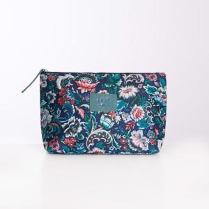 Lilió Toilettaske Cosmetic Bag L Blå/mønster