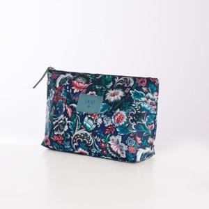 Lilió Toilettaske Cosmetic Bag L Blå/mønster alt image
