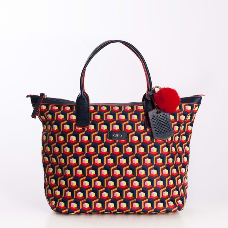 Oilily Shopper Blå/mønster 3