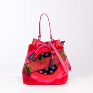 Oilily Crossbody Bucket Bag Rød