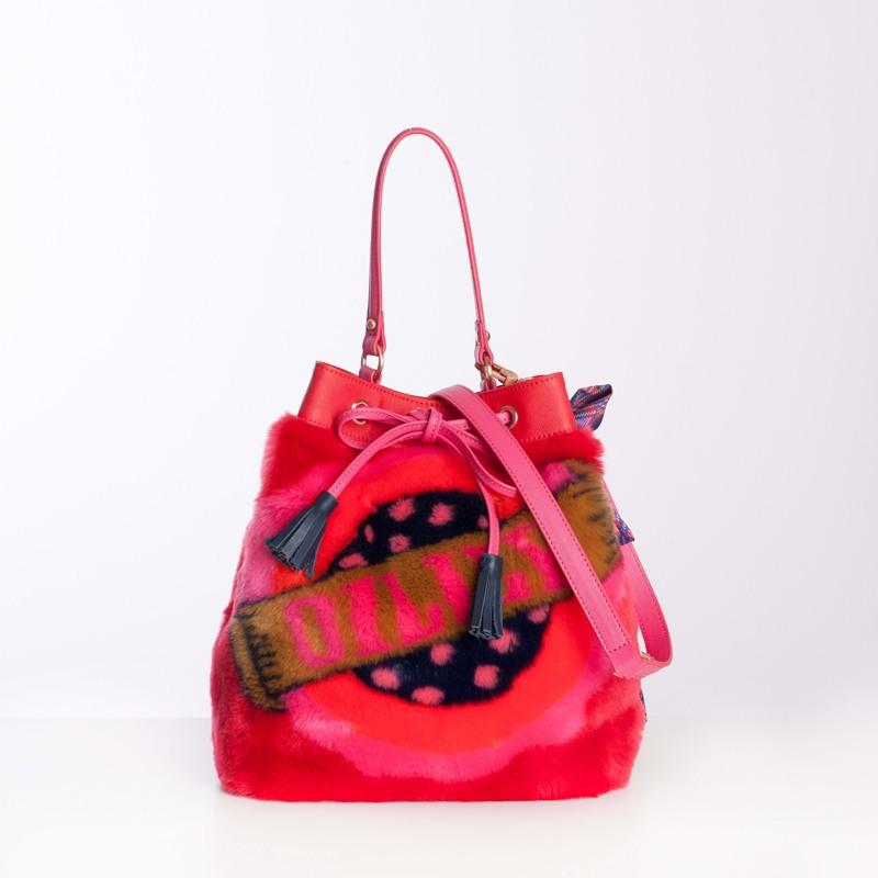 Oilily Crossbody Bucket Bag Rød 2