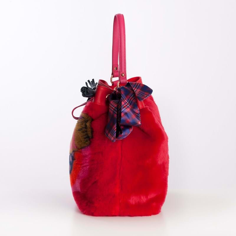 Oilily Crossbody Bucket Bag Rød 3