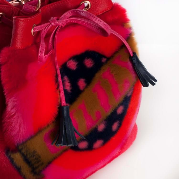 Oilily Crossbody Bucket Bag Rød 4