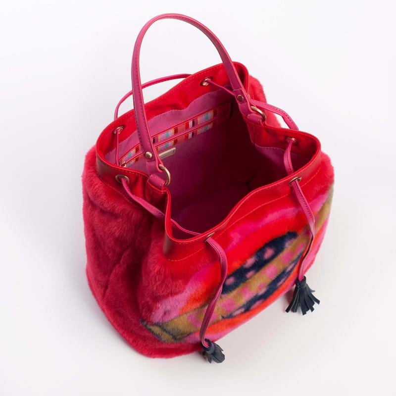Oilily Crossbody Bucket Bag Rød 6