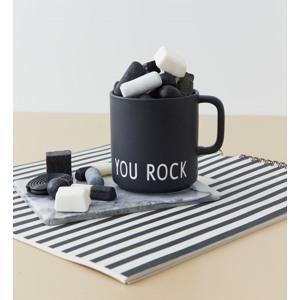Design Letters Favoritkop m. håndtag You Rock Sort 2
