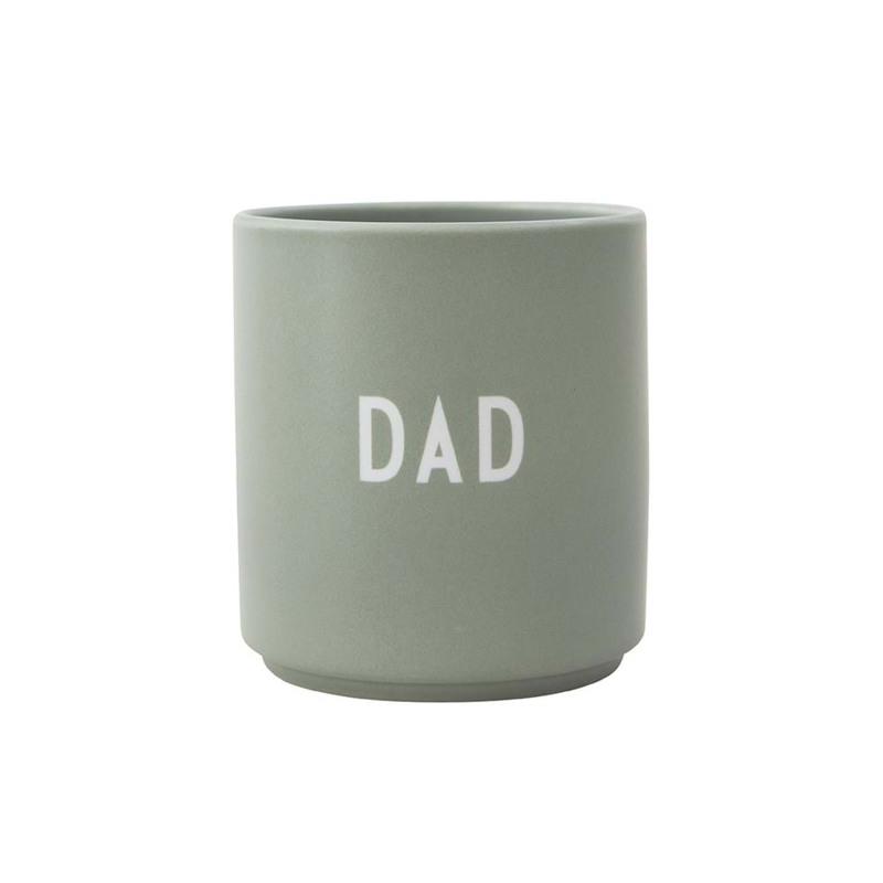 Design Letters Favoritkop Dad Grøn 1
