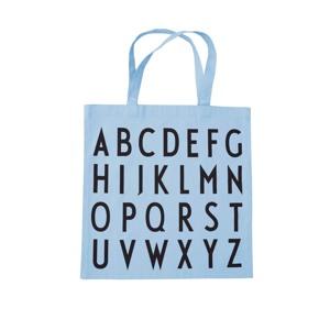 Design Letters Totebag ABC Lyseblå