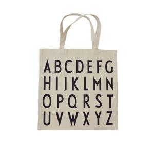 Design Letters Totebag ABC Creme