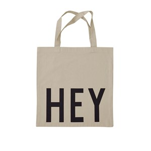 Design Letters Totebag Hey Creme