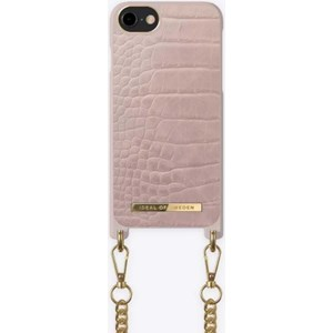 iDeal Of Sweden Mobilcover Necklace Case iPhone 6/6S/7/8/SE Lyserød