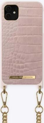 iDeal Of Sweden Mobilcover Necklace Case iPhone XR/11 Lyserød
