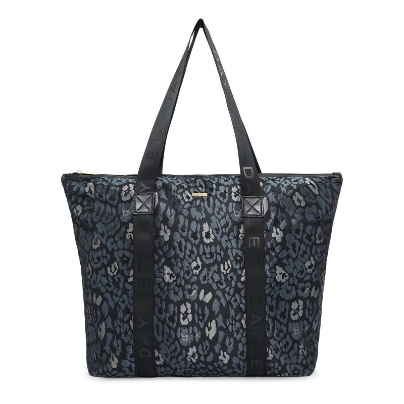 Day et Shopper Logo Band Bag Grå/sølv 1