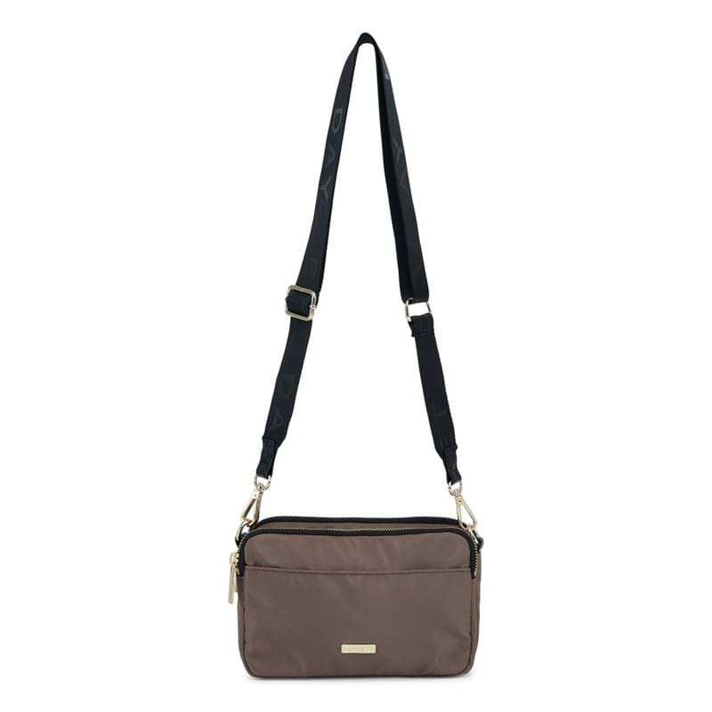 Day et Crossbody Logo Band Triple Brun 1