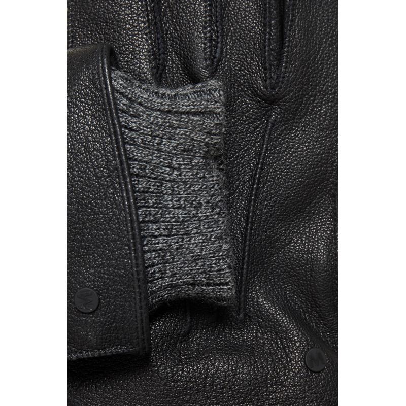 Matinique Handsker Magrain Sort 2