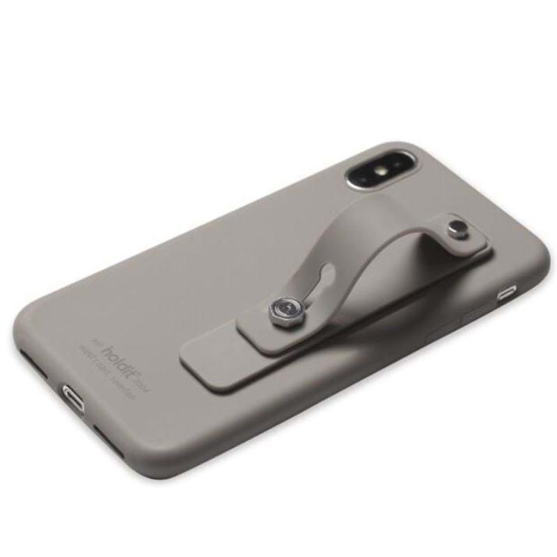 Holdit Fingerstrop til mobilcover Grå 3