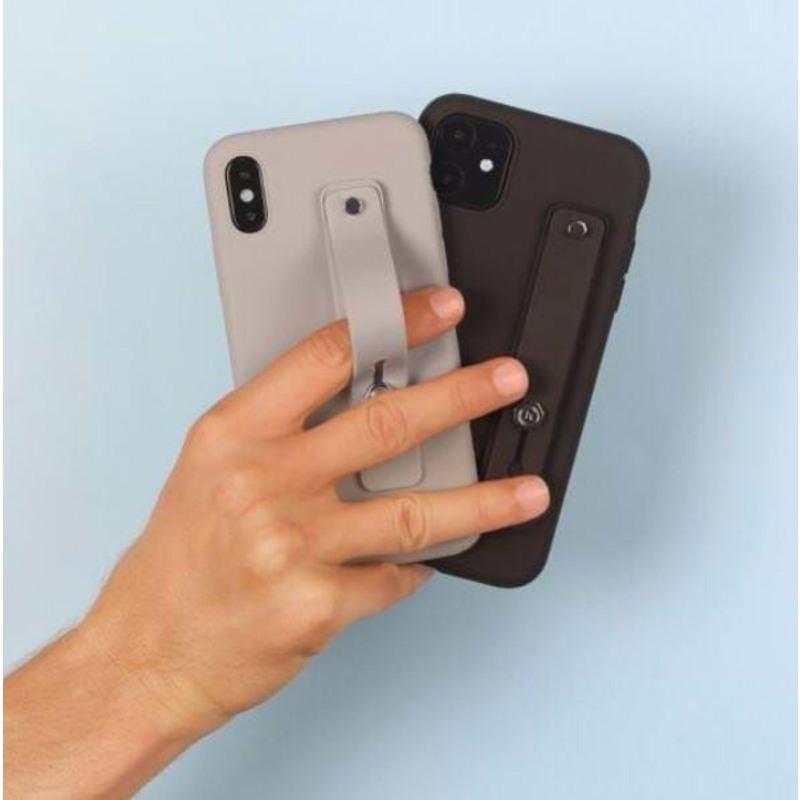 Holdit Fingerstrop til mobilcover Grå 4