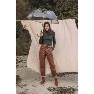 M&P Paraply lang automatisk Transparent alt image