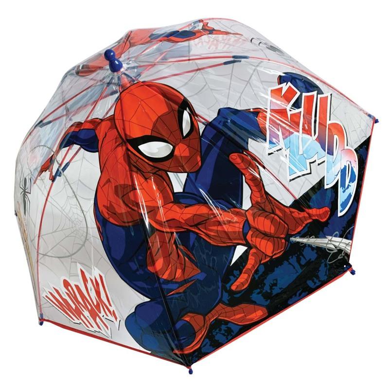 Hoffmann Børneparaply Spiderman Rød 1