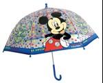 Hoffmann Børneparaply Mickey Mouse Blå