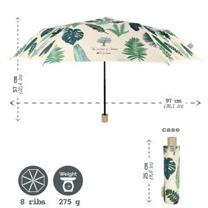 Hoffmann Paraply kort manuel Blomst alt image