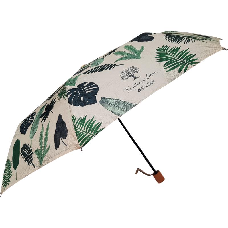 Hoffmann Paraply kort manuel Blomst 2