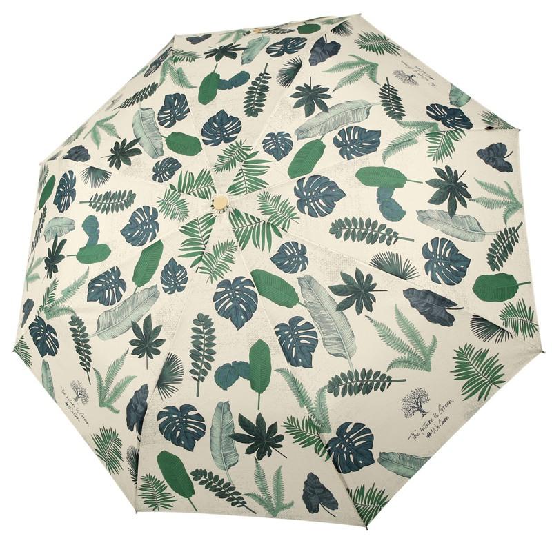 Hoffmann Paraply kort manuel Blomst 1