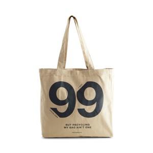 "Markberg Shopper Isidora ""99 Problems"" Beige alt image"