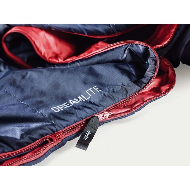Deuter Sovepose Dreamlite Blå/rød 2