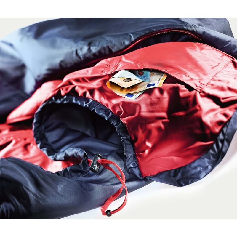 Deuter Sovepose Dreamlite Blå/rød 3