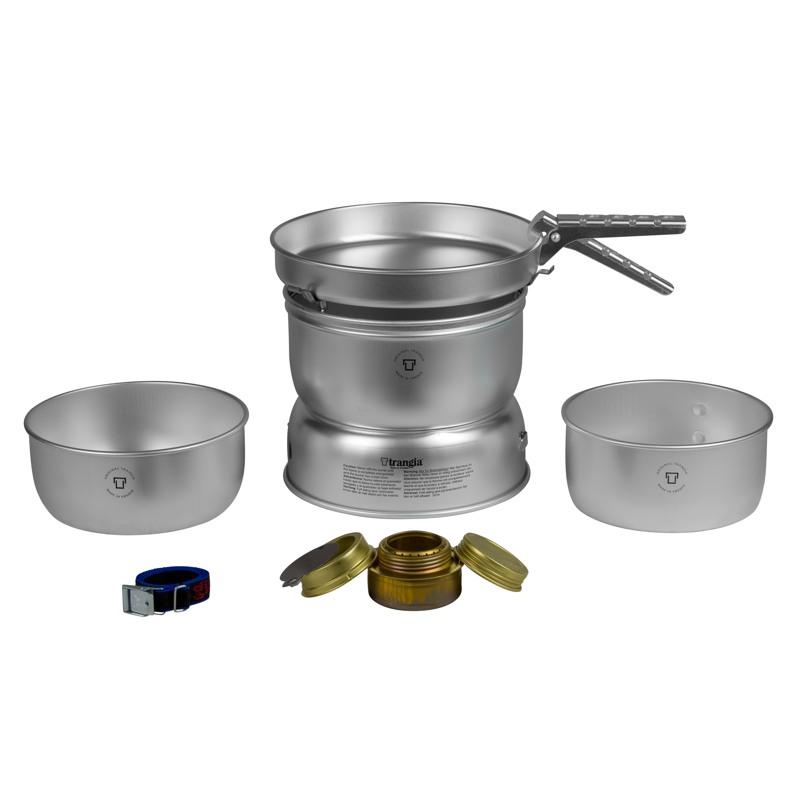 Trangia Stormkøkken 25-1 Ultra Lite Aluminium 1