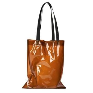 Rains Shopper Transparent  Brun/rød
